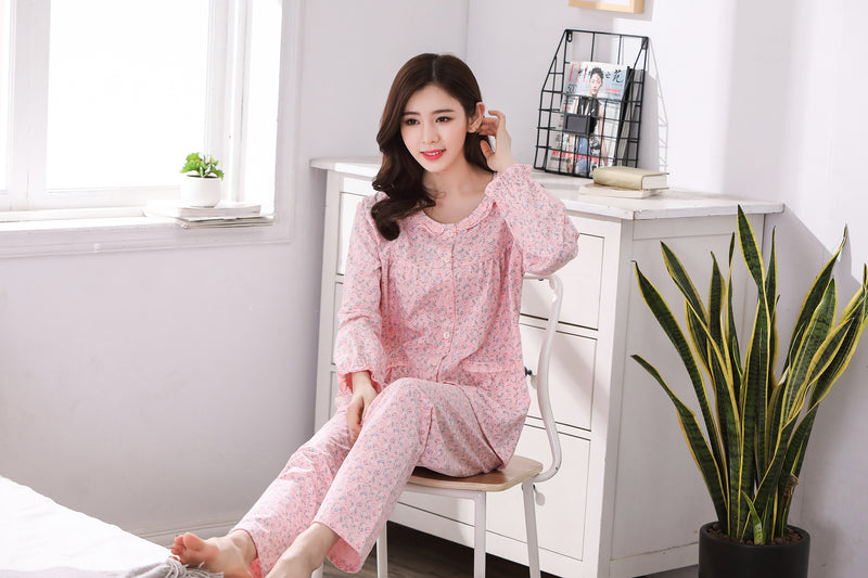 Adorable Floral Pajamas #1688