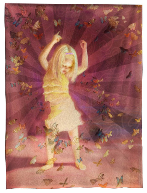 Dancing Light Tapestry 7 ft.