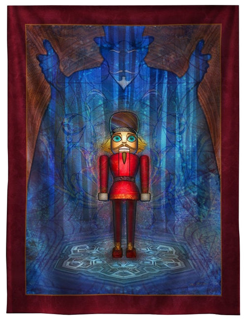 Nutcracker Tapestry Tapestry 7 ft.