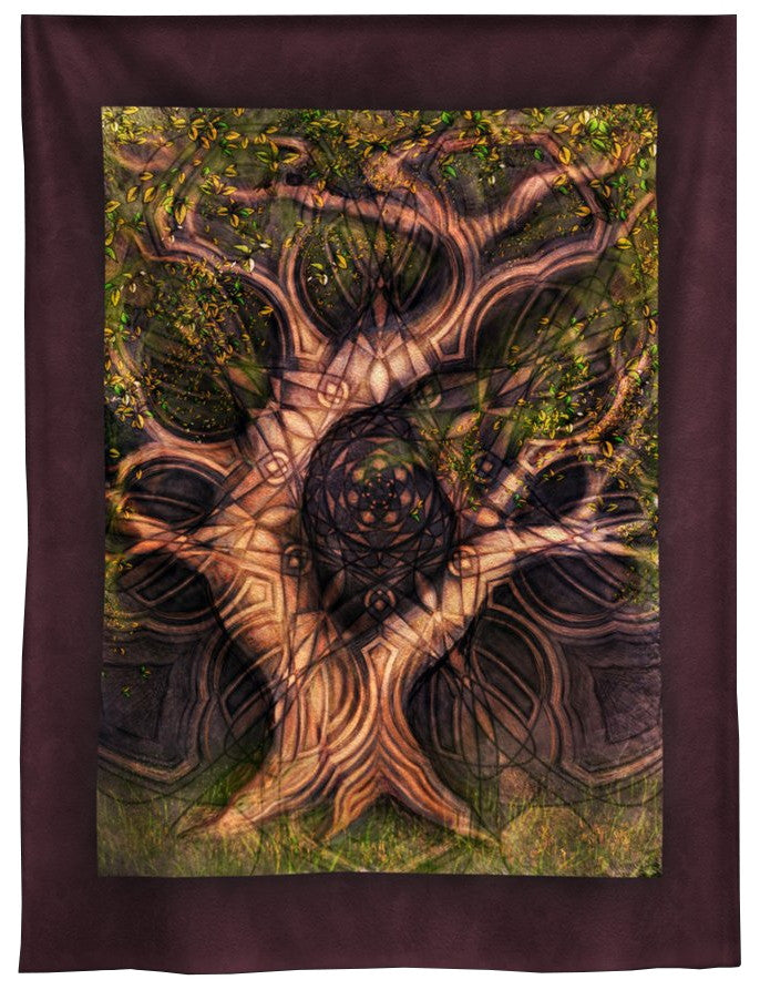 Arched Tree Tapestry 7 ft.