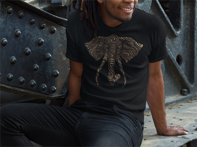 Golden Elephant TEE