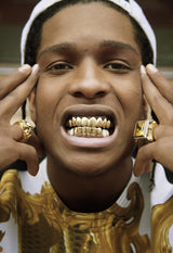 18K Gold UPPER Grill - Boss Grillz