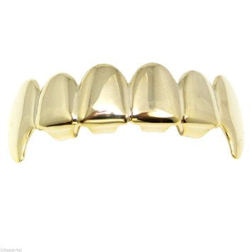18K Gold FANG Grill