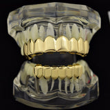 18K Gold Plated Grillz set - Boss Grillz