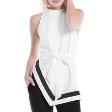 Unbalance Hem Sleeveless Top