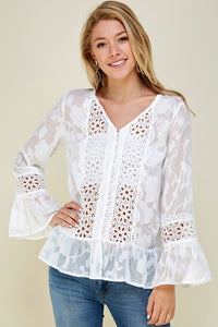 Boho Long Sleeve Top