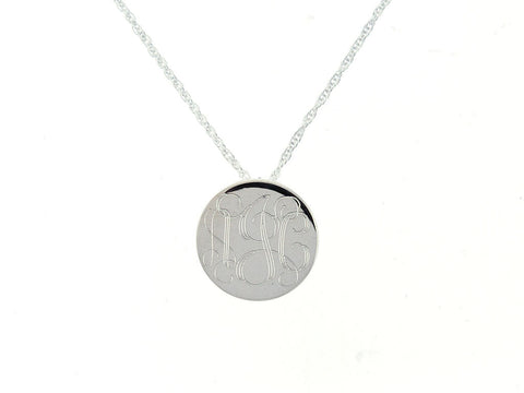 Circle Slide Necklace