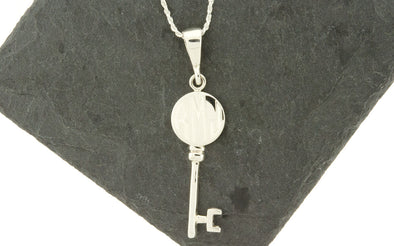 Key Monogram Necklace