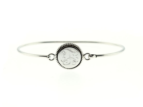 Round Circle Nautical Rope Bangle Bracelet