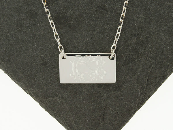 Mini Name Tag Necklace