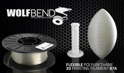 Airwolf 3D WOLFBEND TPU Flexible Filament