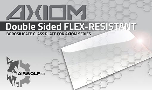Airwolf 3D AXIOM Double Sided Borosilicate FLEX-RESISTANT GLASS