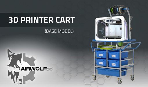 Airwolf 3D Printer Cart (Base Model)