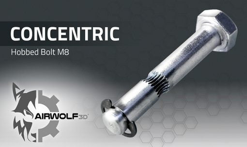 Airwolf 3D CONCENTRIC Hobbed Bolt M8 By Airwolf 3D Printer