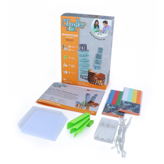 3Doodler Start 3D Pen - ARCHITECTURE ACTIVITY KIT