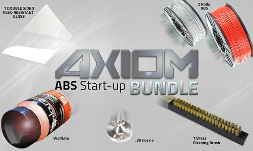 Airwolf 3D ABS AXIOM Start-up Bundle