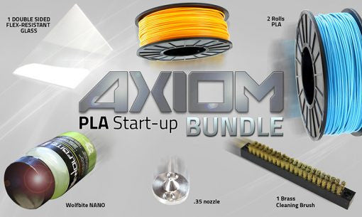 Airwolf 3D PLA AXIOM Start-up Bundle