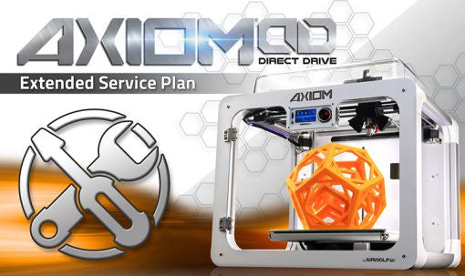 Airwolf 3D Axiom Direct Drive 3D Printer - Service Plan