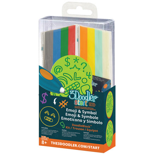 3Doodler Start Accessories - DoodleBlock Emoticon and Symbol Kit