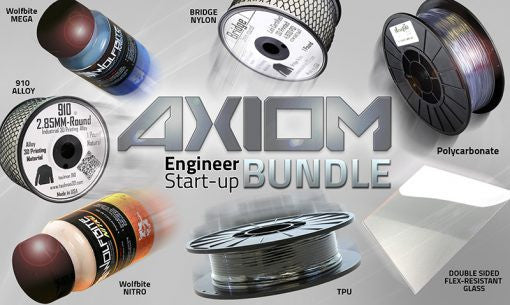 Airwolf 3D Engineering Start-up Bundle for AXIOM series printers