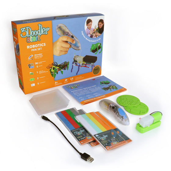 3Doodler Start 3D Pen - ROBOTICS PEN SET