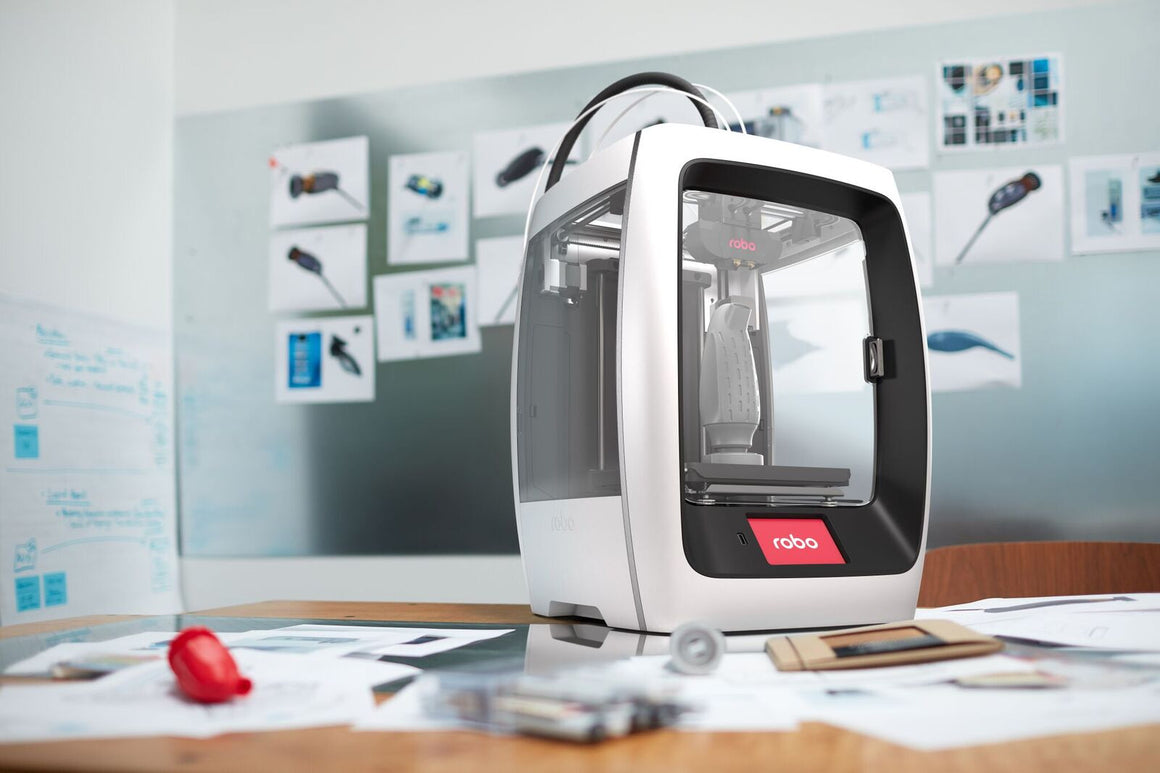 Robo 3D R2 High-Performance Smart 3D Printer with Wi-Fi