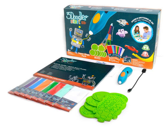 3Doodler Start 3D Pen - SUPER MEGA PEN SET