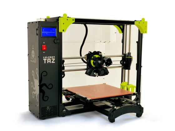 LulzBot TAZ 6 Enclosure by Printed Solid