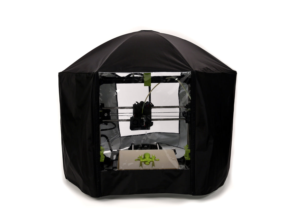 Lulzbot Nylon LulzBot 3D Printer Enclosure by galaxG Design World