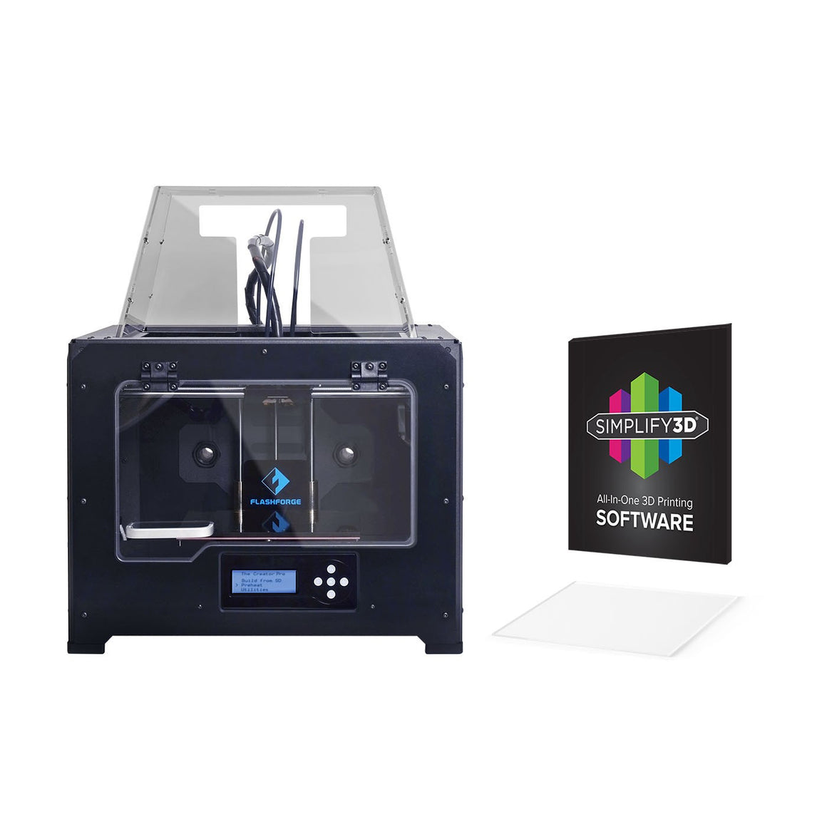 FLASHFORGE NEW Creator Pro Dual Extrusion 3D Printer