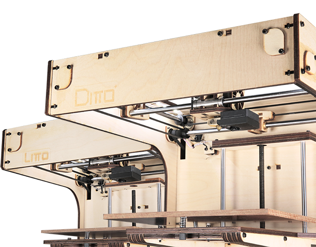 TINKERINE DITTO Do It Yourself 3D Printer Kit