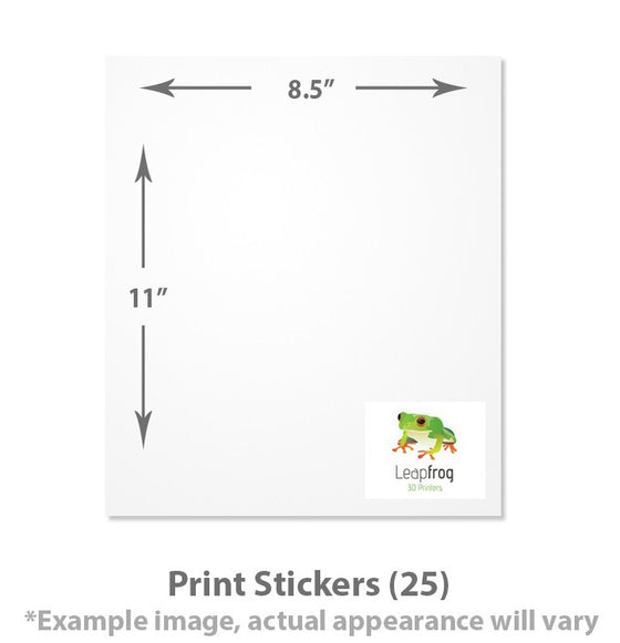 LEAPFROG MAXX ESSENTIALS PRINT STICKERS (25 PIECES)