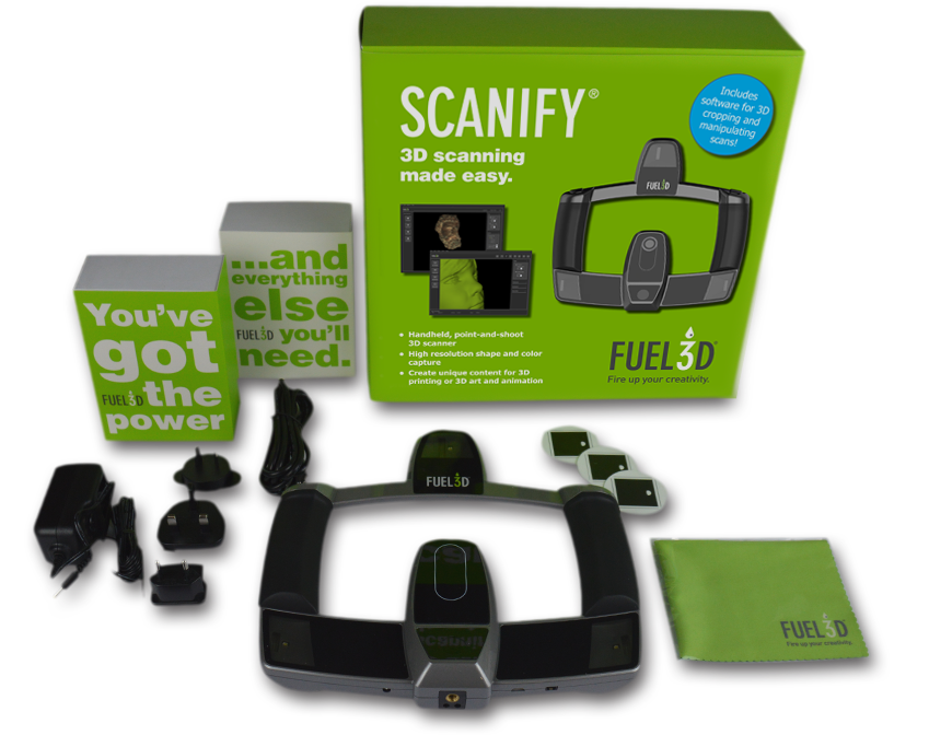 Fuel3D SCANIFY Digital Handheld 3D Scanner