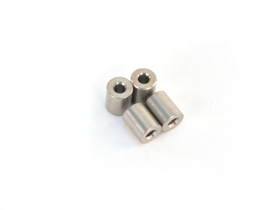 Lulzbot Steel Spacer, 8mm OD, 10mm Length (x4)