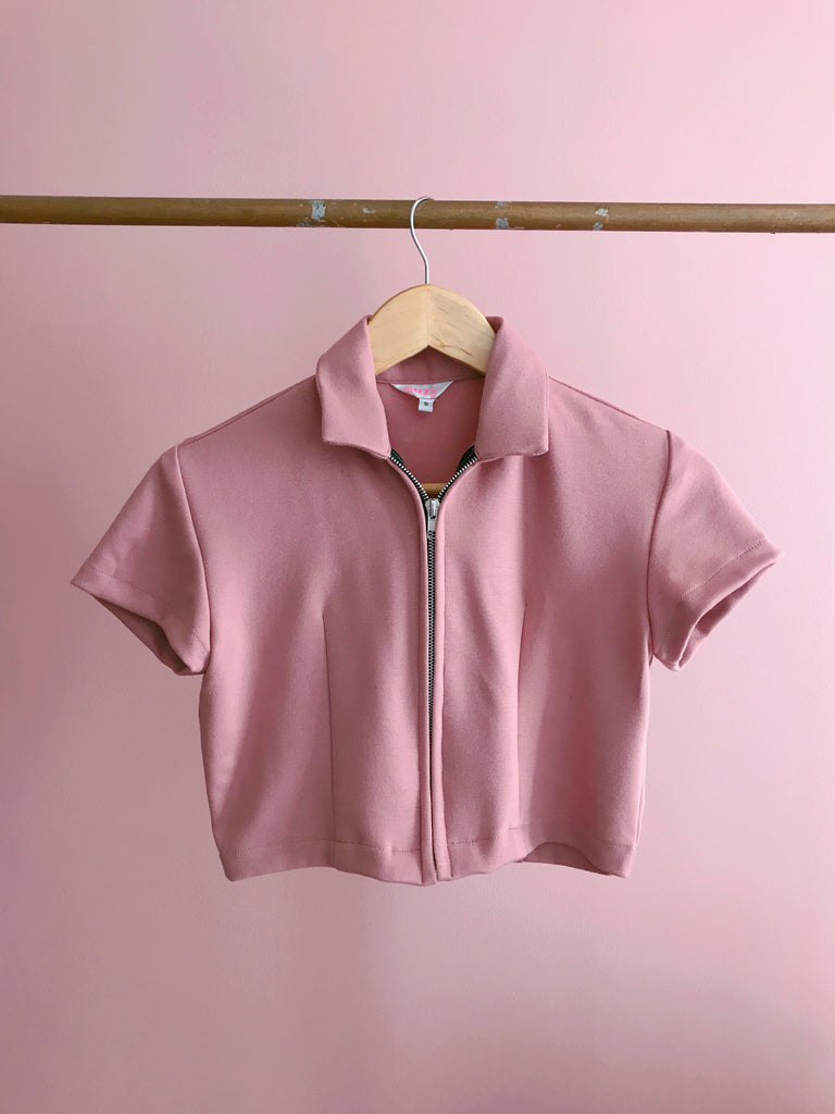 Kimmy Track Top (Pink)
