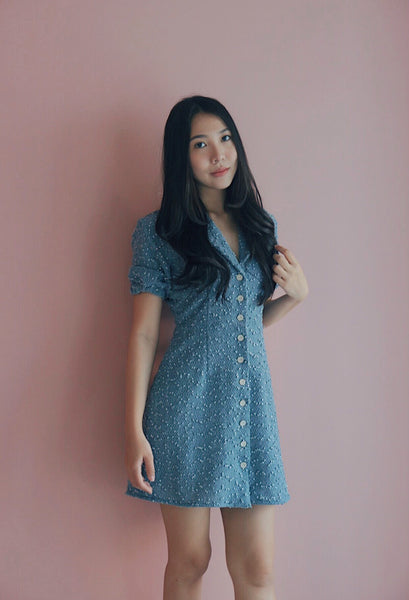 Willow Mini dress (Periwinkle Blue)