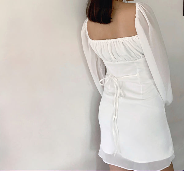 Charlie dress (WHITE) | PRE-ORDER