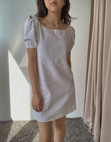 Dorothy lounge dress (WHITE)