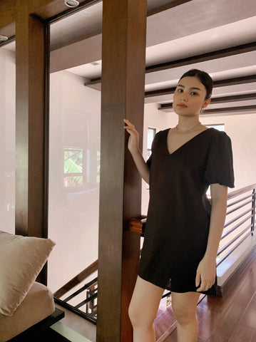 Alicia Lounge dress (BLACK)