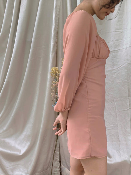 Charlie dress (DUSTY ROSE) | PRE-ORDER