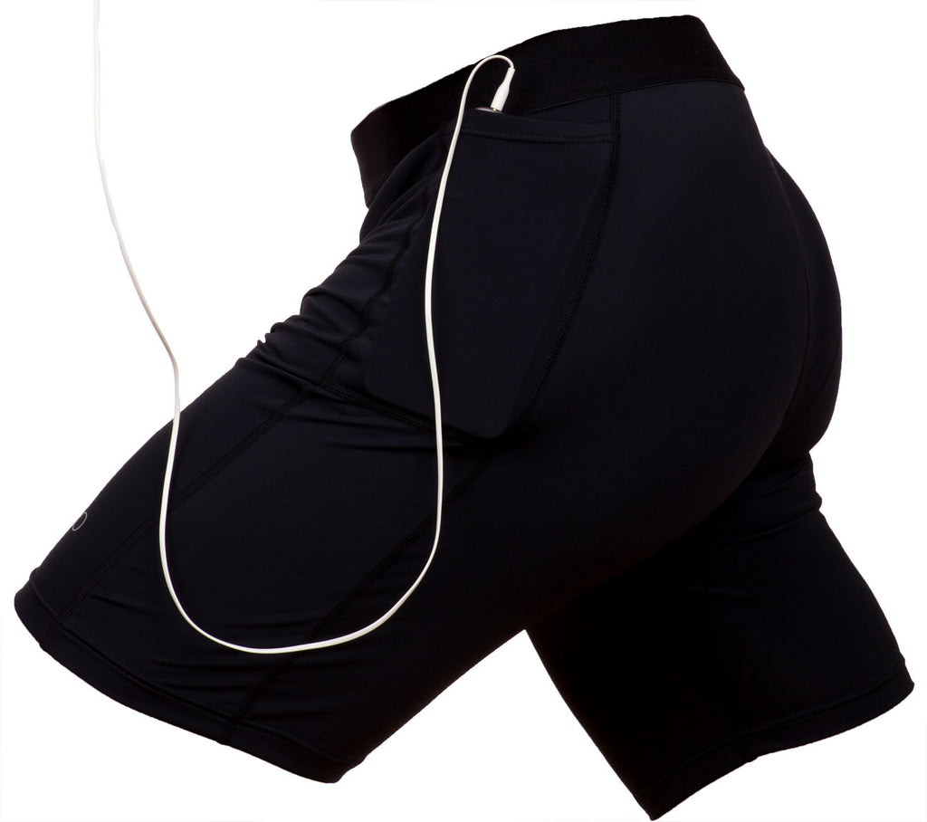 Compression Shorts With Pockets