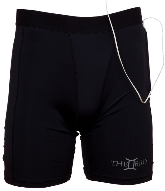 Intelligently Designed Compression Shorts With Pockets