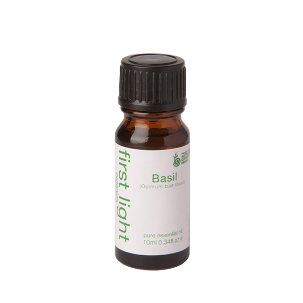 Basil Certified Organic Essential Oil