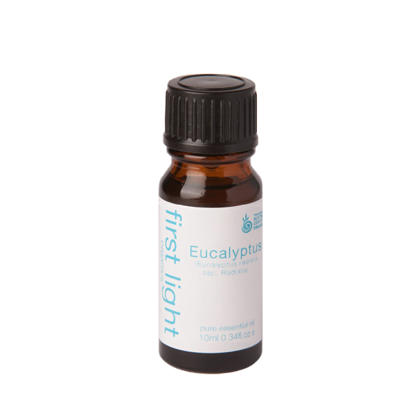 Eucalyptus Certified Organic Essential Oil