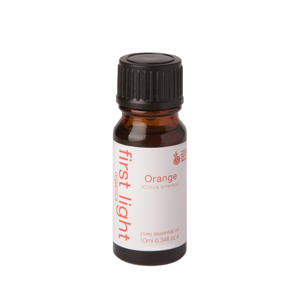 Orange Certified Organic Essential Oil