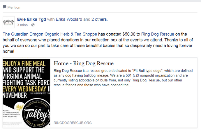 Ring Dog Rescue Supporter