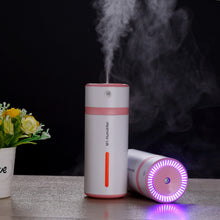 230ML Ultrasonic Humidifier USB Car Humidifier Mini Aroma Essential Oil Diffuser Aromatherapy