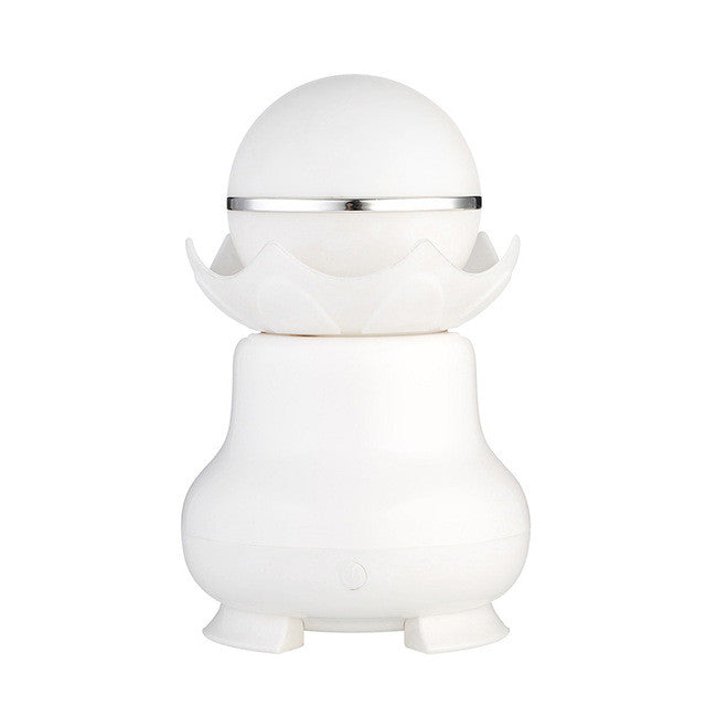 USB Night-luminescent Pearl  Aromatherapy Diffuser