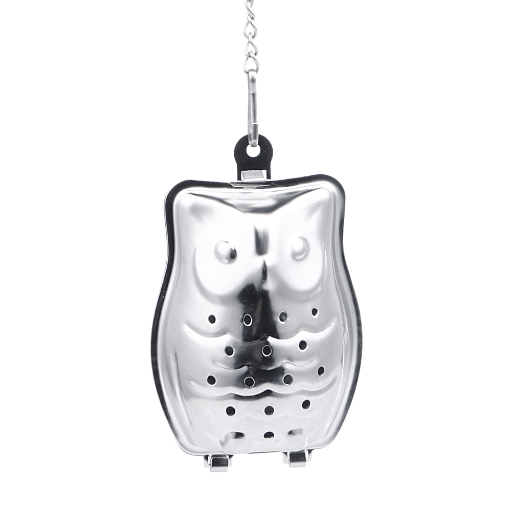 Owl Shaped Tea Infuser Stainless Steel Filter Tea Bag Coffee Tea Tools Accessories