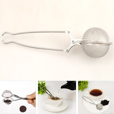 Stainless Steel Tea Pot Tea Infuser Strainer Ball Mesh